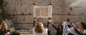 APTOPIX Mideast Israel Wall Women